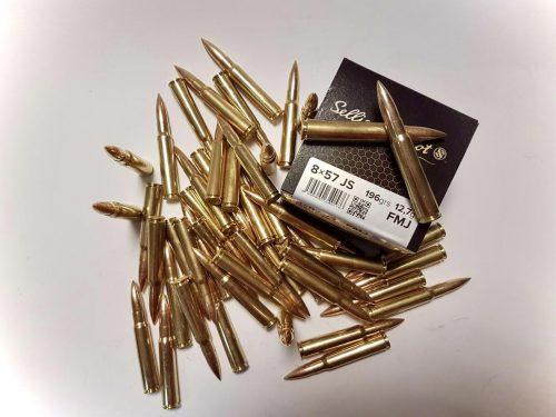 5 výstřelů z historické odstřelovačky Mauser mod. 98 nebo Mosin Nagant